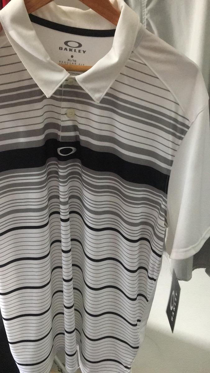 Camisa Oakley Gola Polo Golf Oakley Original - R  210 c4699ac5f55