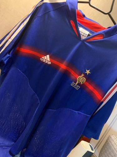 camisa official frança - henry - adidas