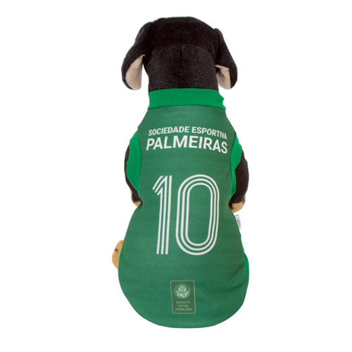 camisa oficial 1 do palmeiras para cães 2017 - g