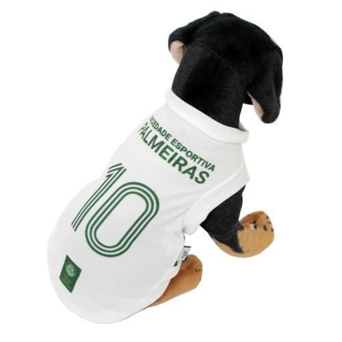 camisa oficial 2 do palmeiras para cães 2017 - gg