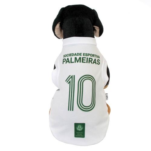 camisa oficial 2 do palmeiras para cães 2017 - p