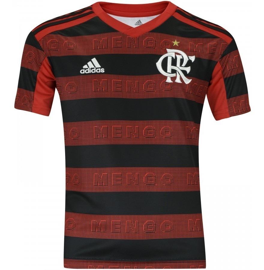d513b56adb Camisa Oficial adidas Flamengo Home 2019 Rubro Negra - R$ 139,99 em ...