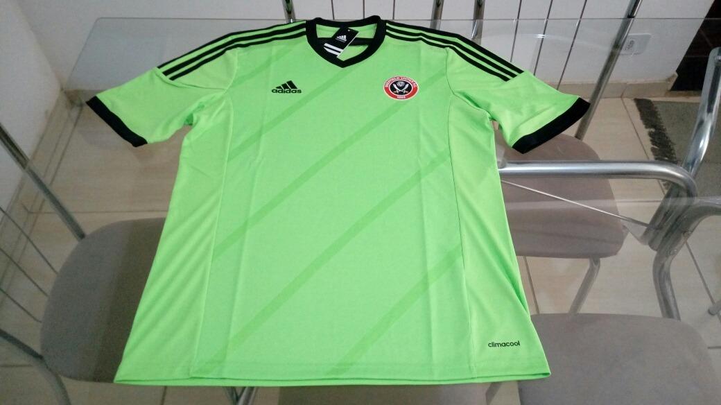 2a29b2ae23 camisa oficial adidas futebol sheffield united inglaterra. Carregando zoom.