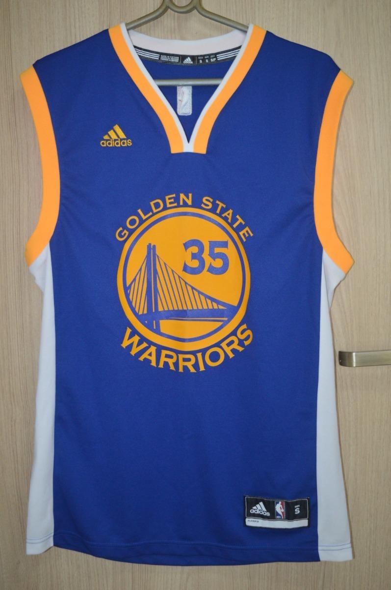 camisa oficial adidas kevin durant - golden state warriors. Carregando zoom. 3b8bf334267