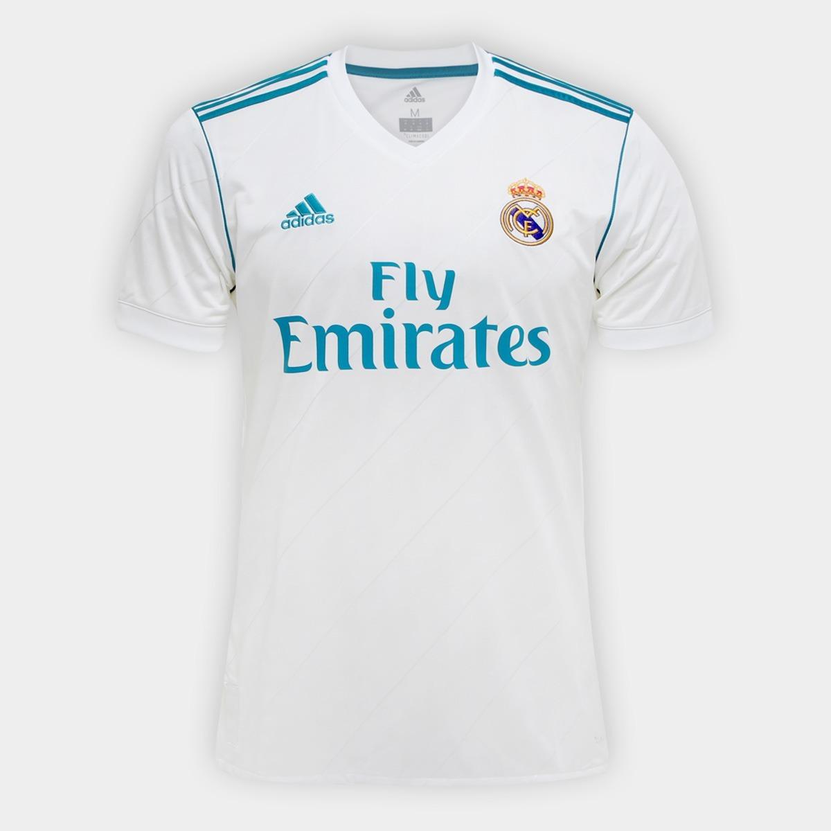 0cdc16bd2821f camisa oficial adidas real madrid 2017 2018. Carregando zoom.