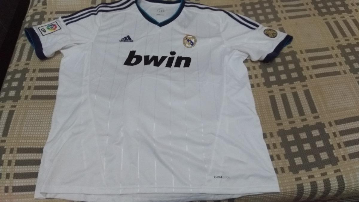 9fce82b55ce04 Camisa Oficial adidas Real Madrid Home 2012 2013 - Ronaldo 7 - R ...