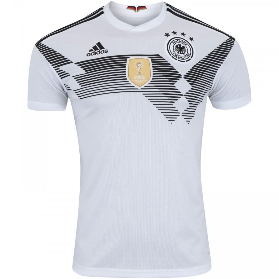 camisa oficial alemanha i adidas br7843 - branca. Carregando zoom. 6a61d252f8824