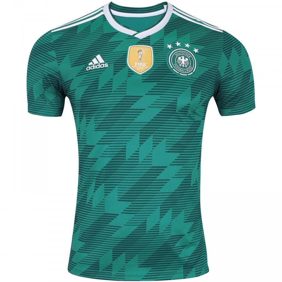 6e6ad96ce61fe Camisa Oficial Alemanha Il 2018 adidas - Br3144 - R  199