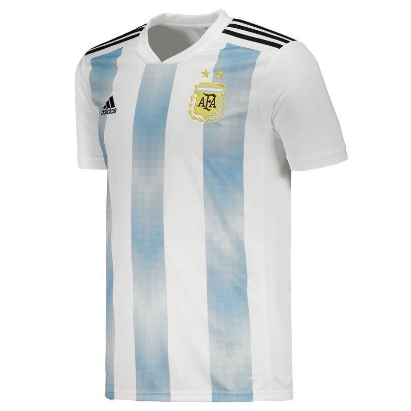 ... camisa oficial argentina adulto adidas copa 2018 liquidação. Carregando  zoom. 7f5df75488d76