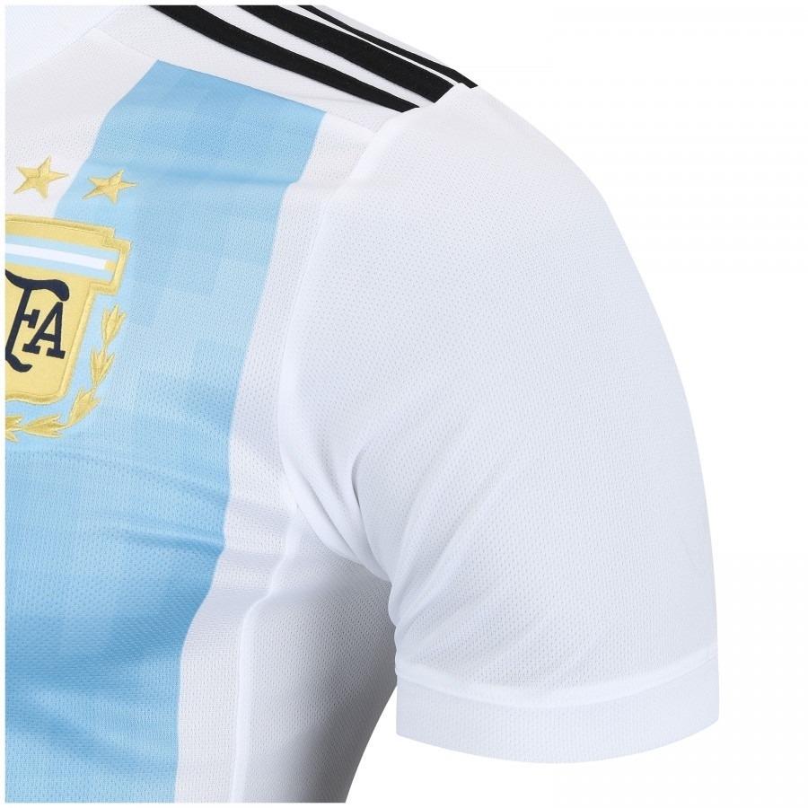 a35468f95e camisa oficial argentina i adidas bq9324 - azul/branca. Carregando zoom.