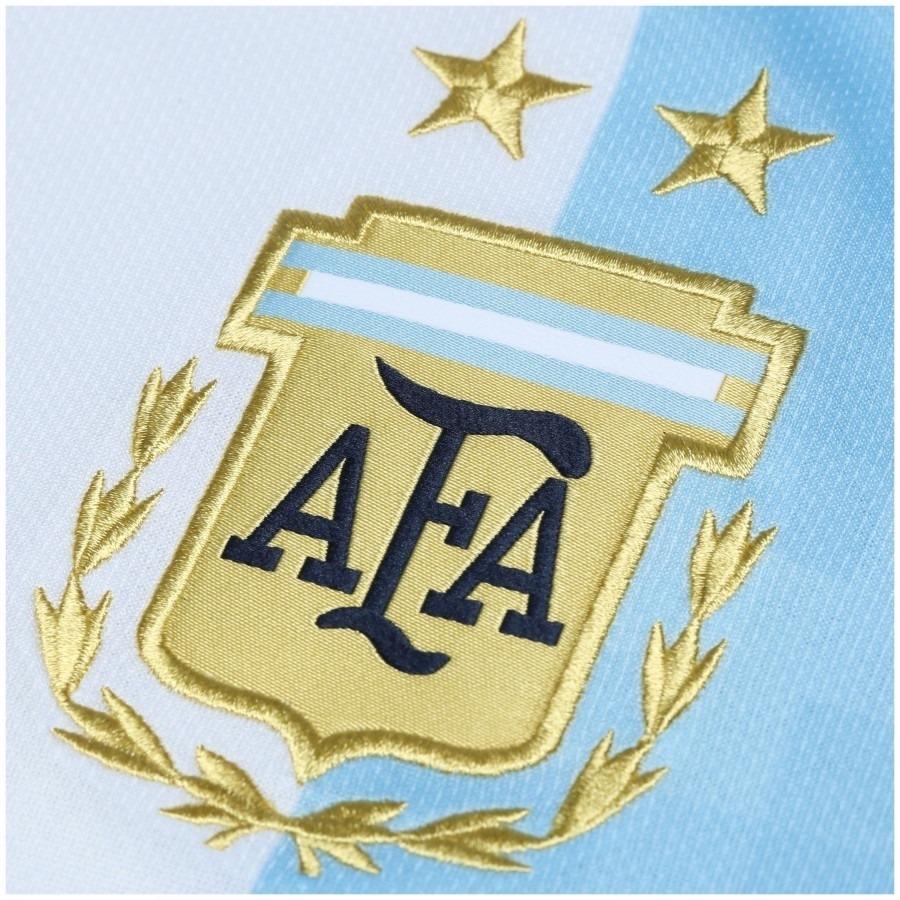 60df1a4622 camisa oficial argentina i adidas bq9324 - azul branca. Carregando zoom.
