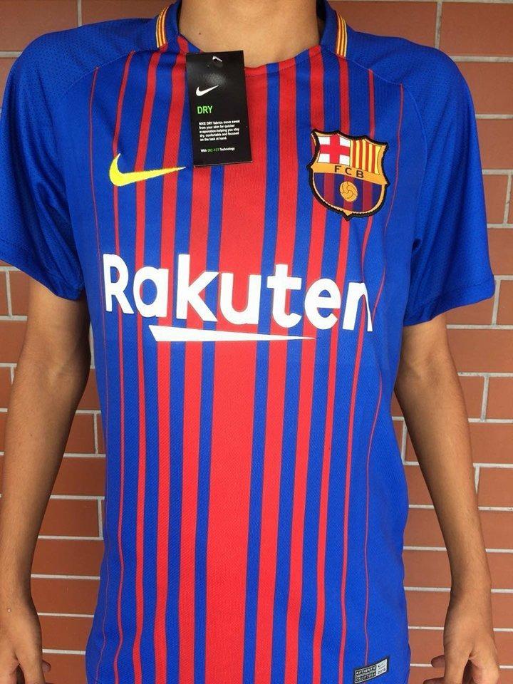 d1cf2585fb Camisa Oficial Barcelona 2018 Nike Titular 10 Messi - R  84