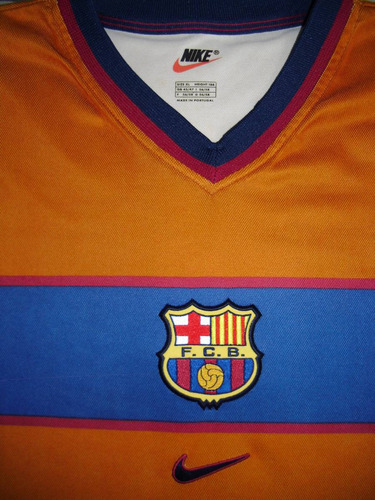 camisa oficial barcelona centenário (visitante)