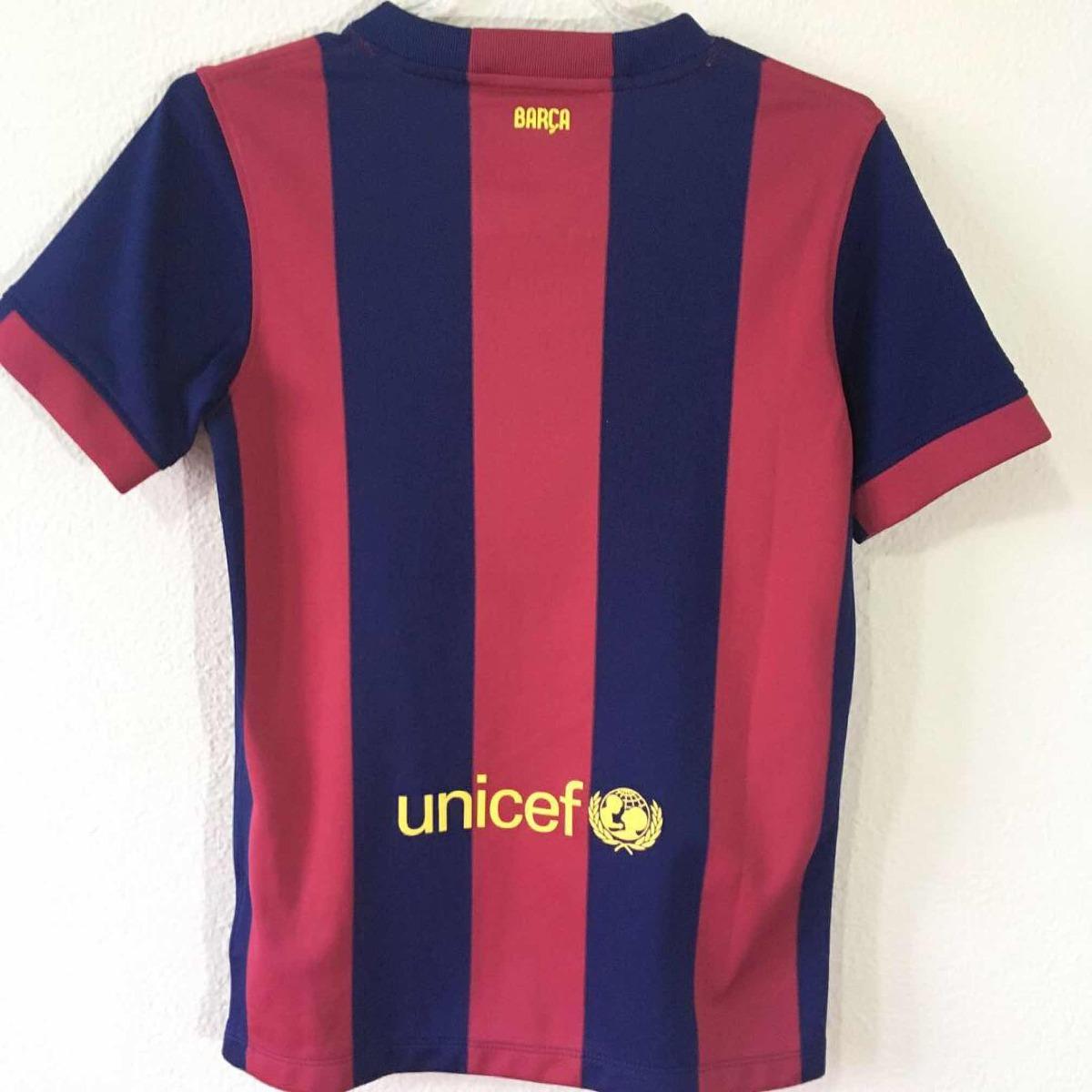 5478c3adda camisa oficial barcelona tam 10-12 anos. Carregando zoom.