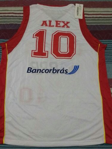 926efdbe54 Camisa Oficial Basquete Brasilia  10 Alex Brabo Nova - R  130