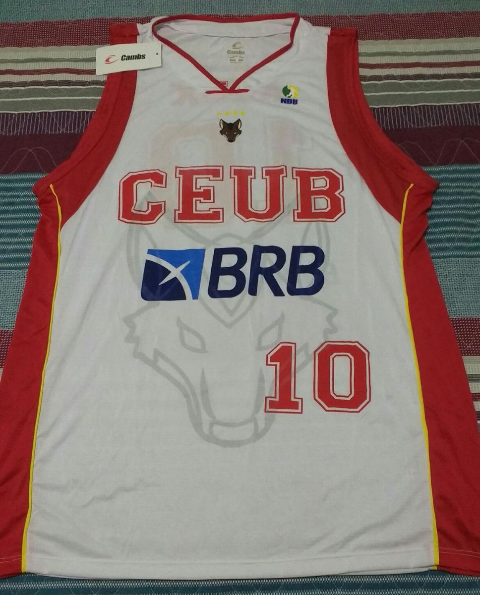 78b6394f19 camisa oficial basquete brasilia  10 alex brabo nova. Carregando zoom.