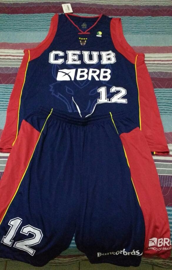 70c6636afa1db Camisa Oficial Basquete Brasilia  12 Guilherme Giovannoni - R  150 ...