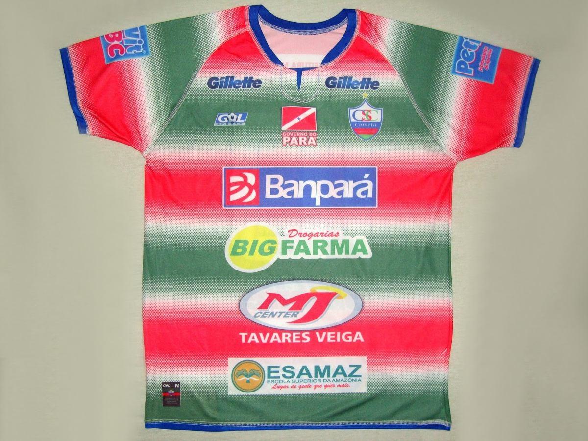 Camisa oficial camet sport club par futebol r 125 for Cameta com