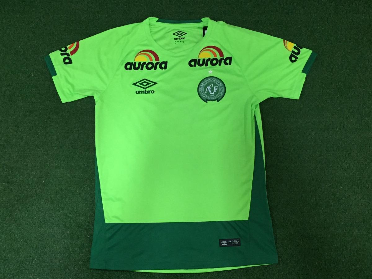camisa oficial chapecoense - goleiro - verde. Carregando zoom. 47c0178b2484c