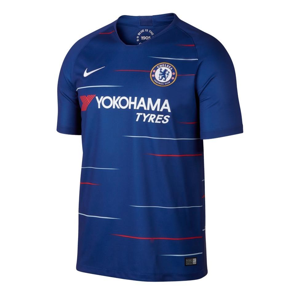 b962b9c514 Camisa Oficial Chelsea Home 2018 19 - R  189
