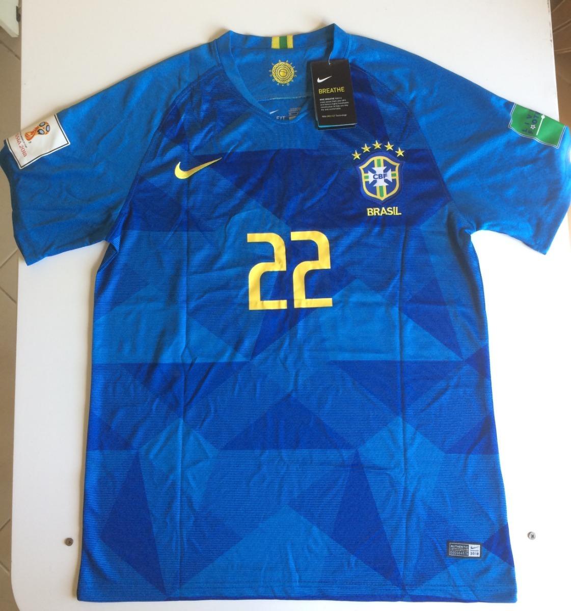 5f5a3249e1 camisa oficial copa do mundo seleção brasileira fagner  22. Carregando zoom.