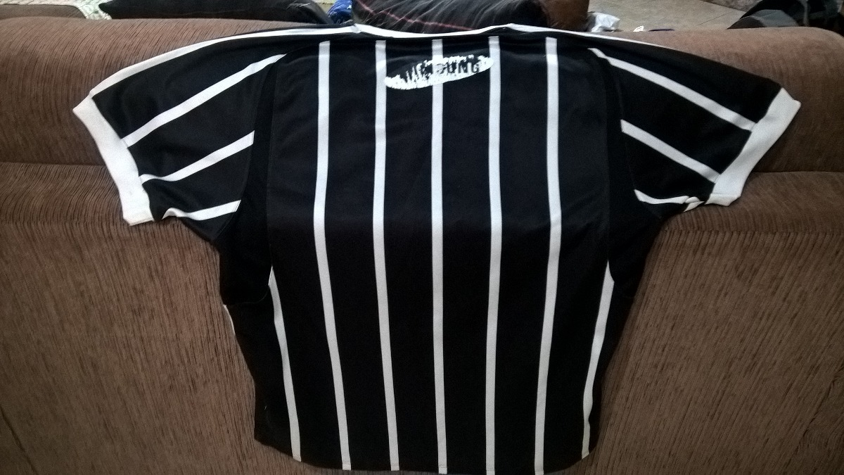 camisa oficial corinthians 2º uniforme ano 2007 samsung!!! Carregando zoom. 80513a4c4d743