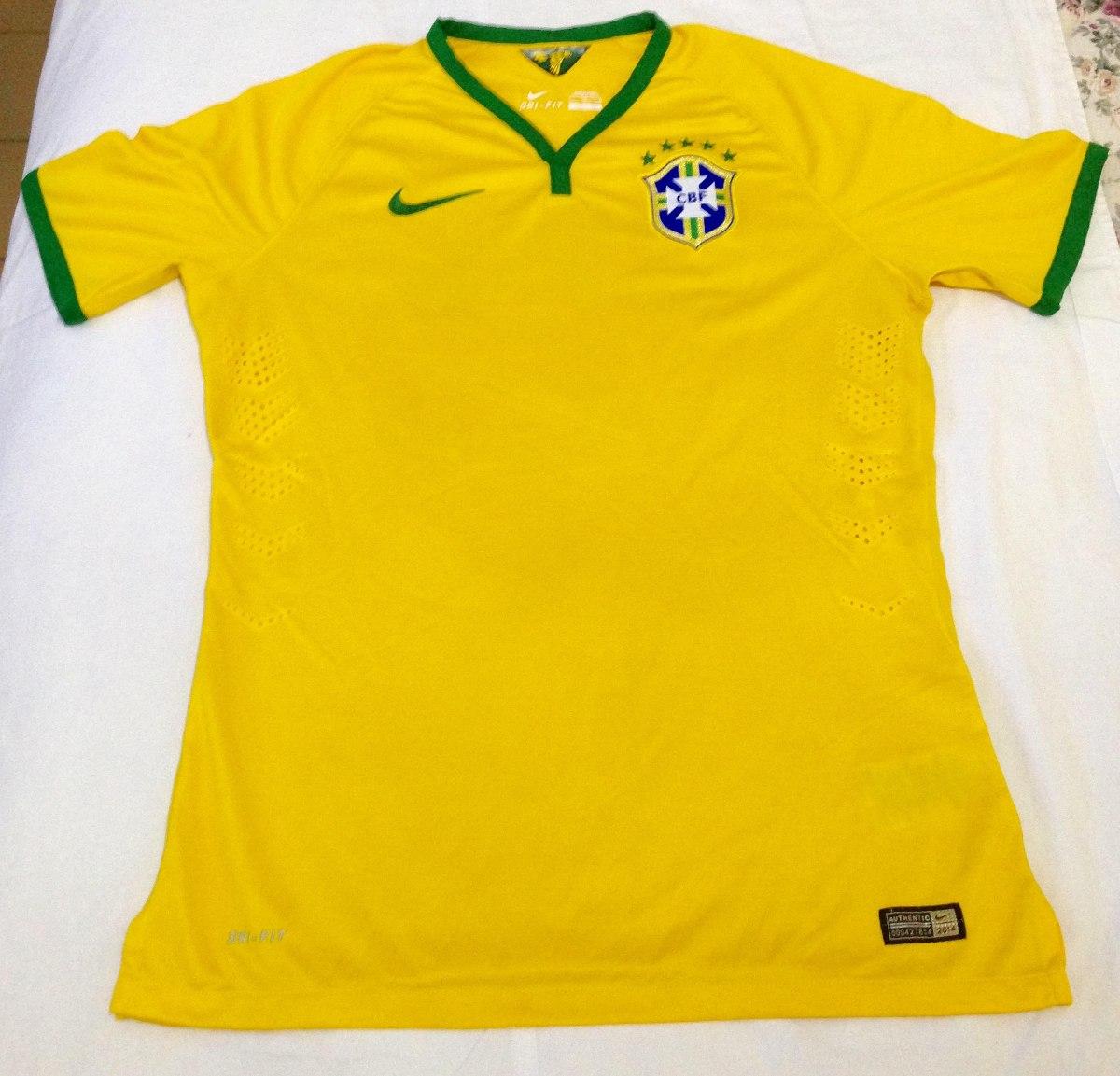 e948f9d86be8b Camisa Oficial Da Seleção Brasileira De Futebol - Copa 2014 - R  229 ...