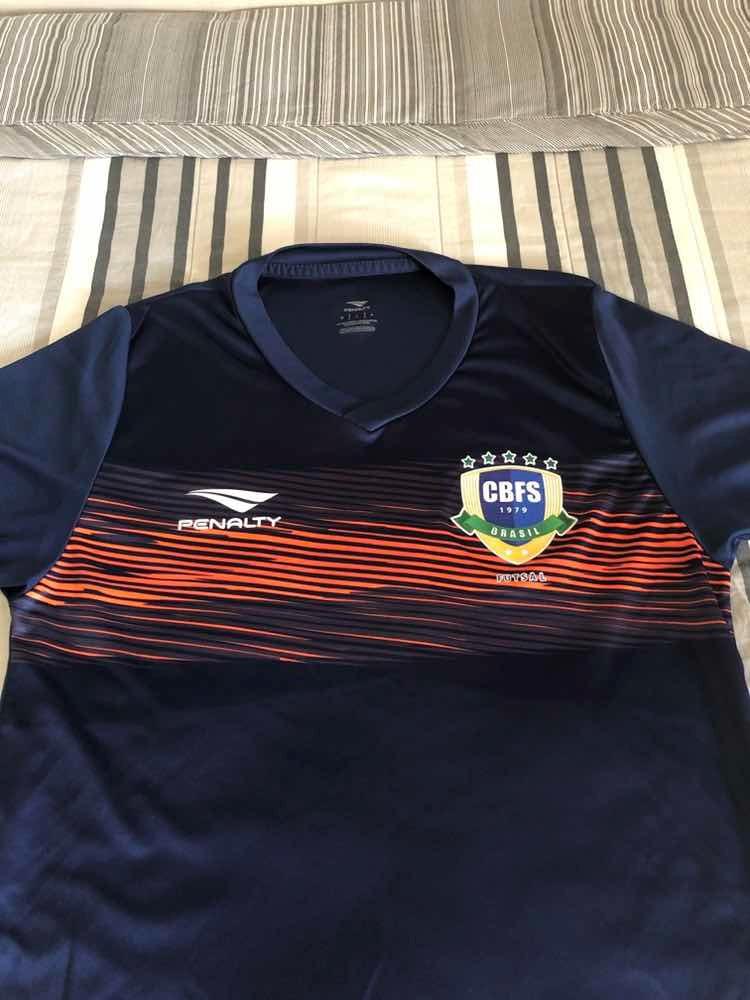 b6a69f9b34e05 camisa oficial da seleção brasileira de futsal. Carregando zoom.