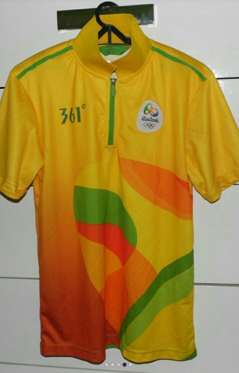 b382589ac7 camisa oficial das olimpíadas rio 2016. Carregando zoom.