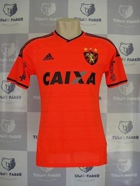 3972abec31 Camisa Oficial De Jogo - Sport Recife - 2014 - Tam. M #14 - R$ 389 ...