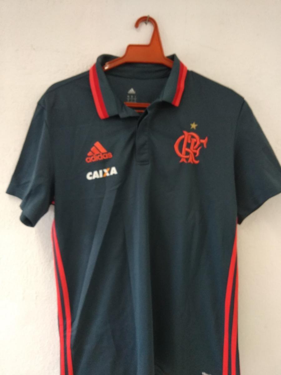 camisa oficial de viagem e conc. flamengo adidas-cam015. Carregando zoom. d99710e390cfc