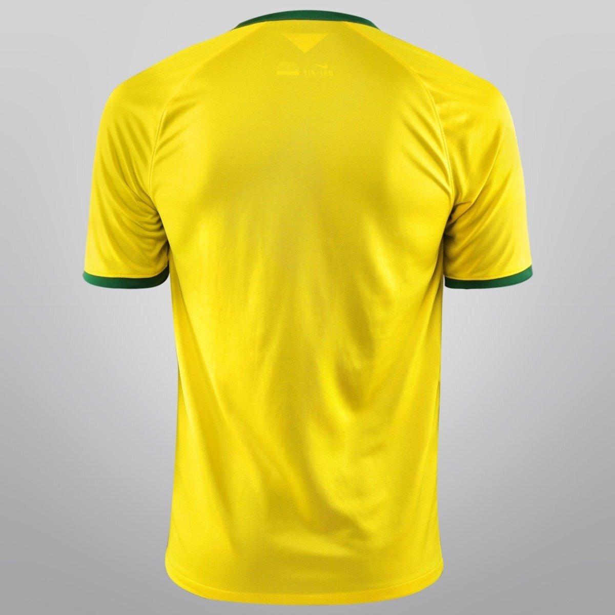 camisa oficial do brasil copa 2014 amarela oficial fifa nike. Carregando  zoom. 60a226210be32