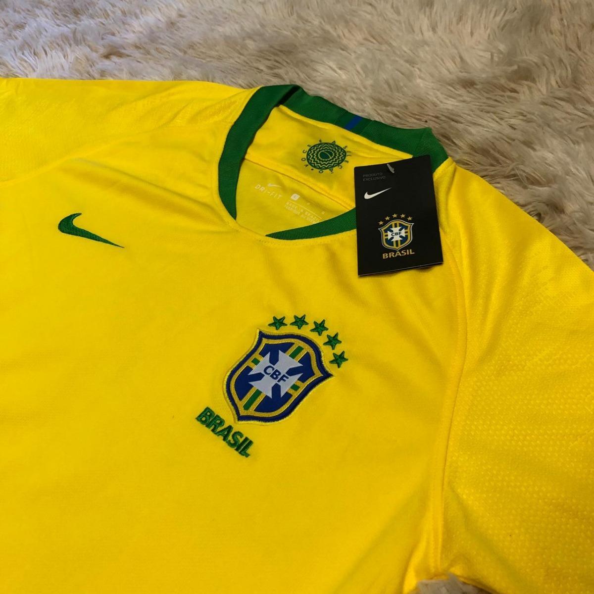 94c7d62d02863 camisa oficial do brasil feminina 2018 copa muito barato. Carregando zoom.