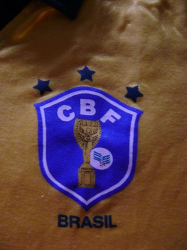 camisa oficial do brasil na copa de 86 - joia de coleção