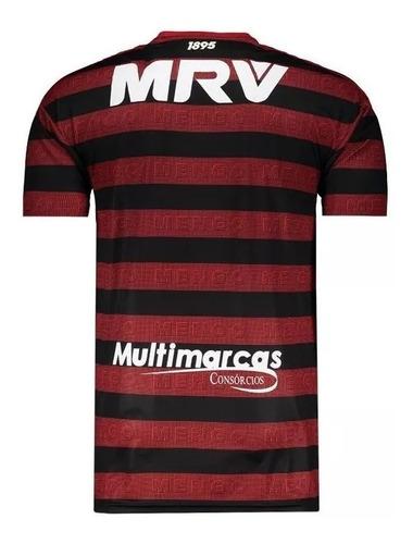 camisa oficial do flamengo - torcedor - personalize
