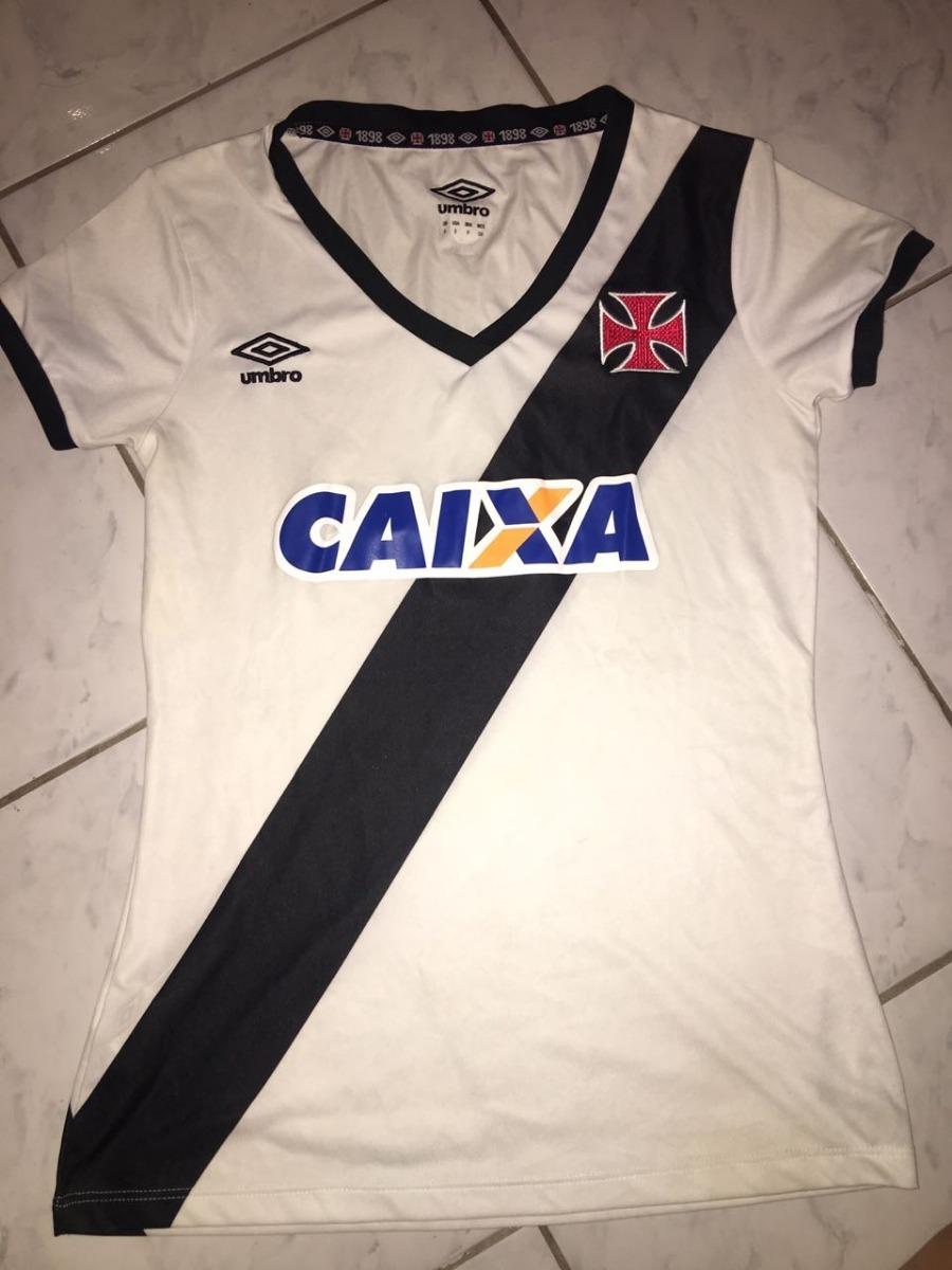 df7a9991aaa289 Camisa Oficial Do Vasco Feminina Tamanho P Usada - R$ 45,00 em ...