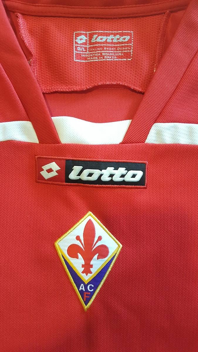 camisa oficial fiorentina lotto. Carregando zoom. b3f70783335fc