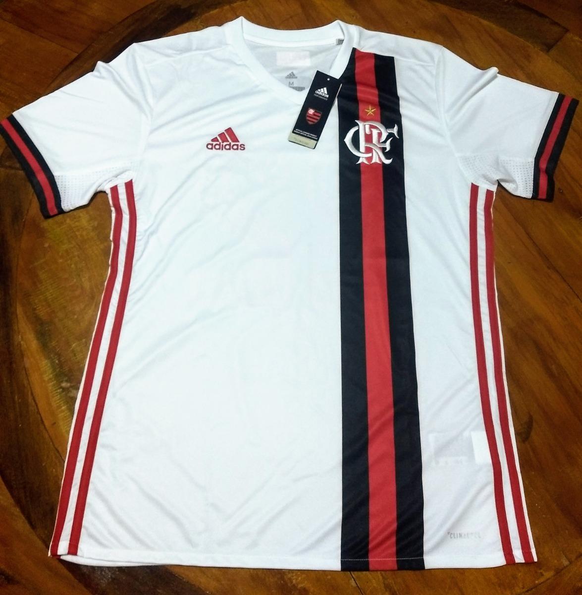 0bc3e2097a Camisa Oficial Flamengo 2017 2 Ii Cr Crf 100% Original - R  109