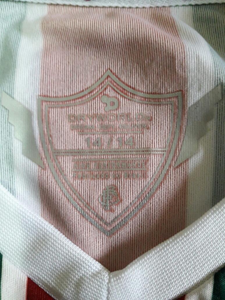 camisa oficial fluminense dryworld juvenil 14 anosfrete r 10. Carregando  zoom. d1c5ebec97ca9