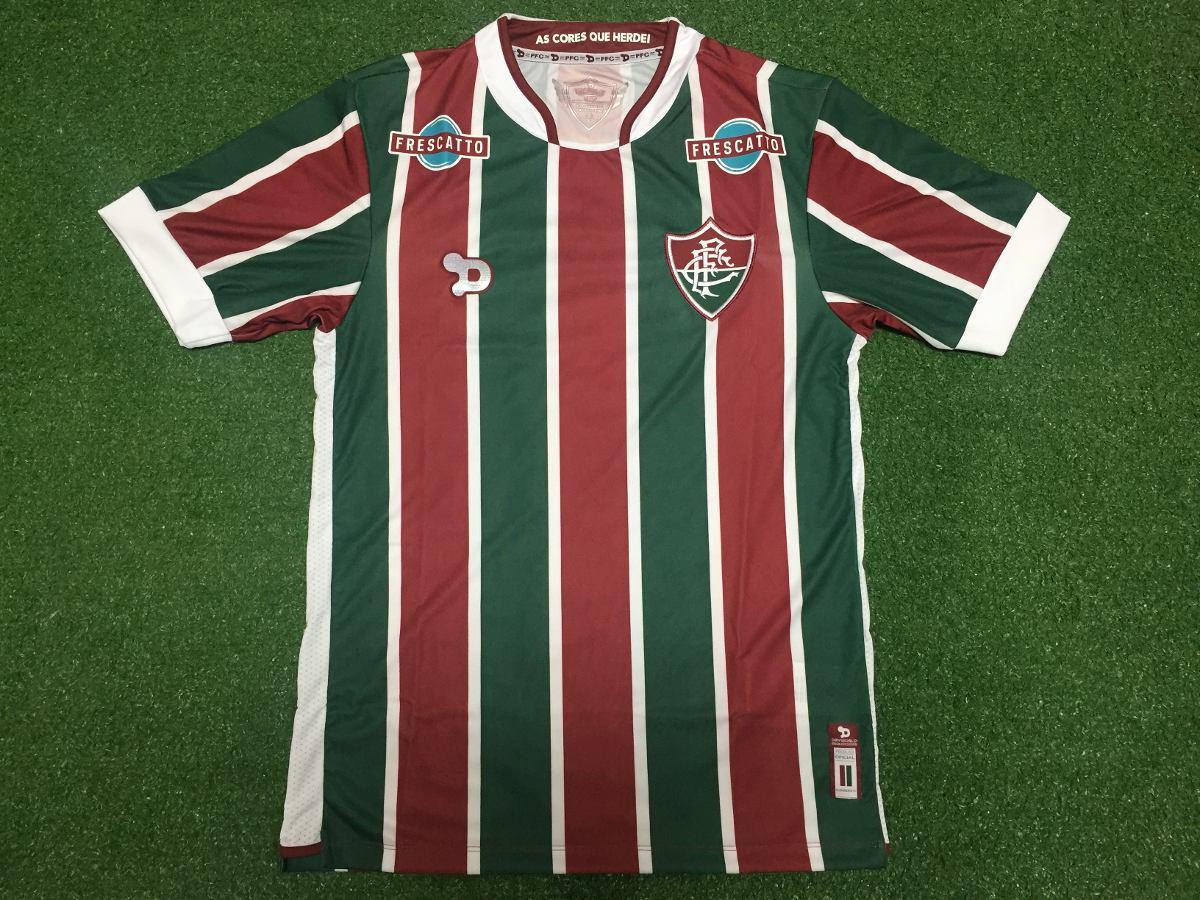 Camisa Oficial Fluminense - Modelo 1 - Listrada - R  109 454593ed0dc62