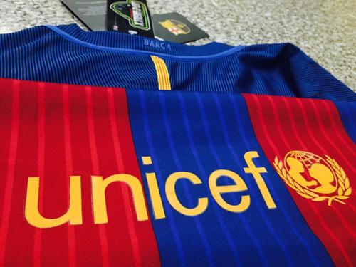 camisa oficial fútbol barcelona 16/17