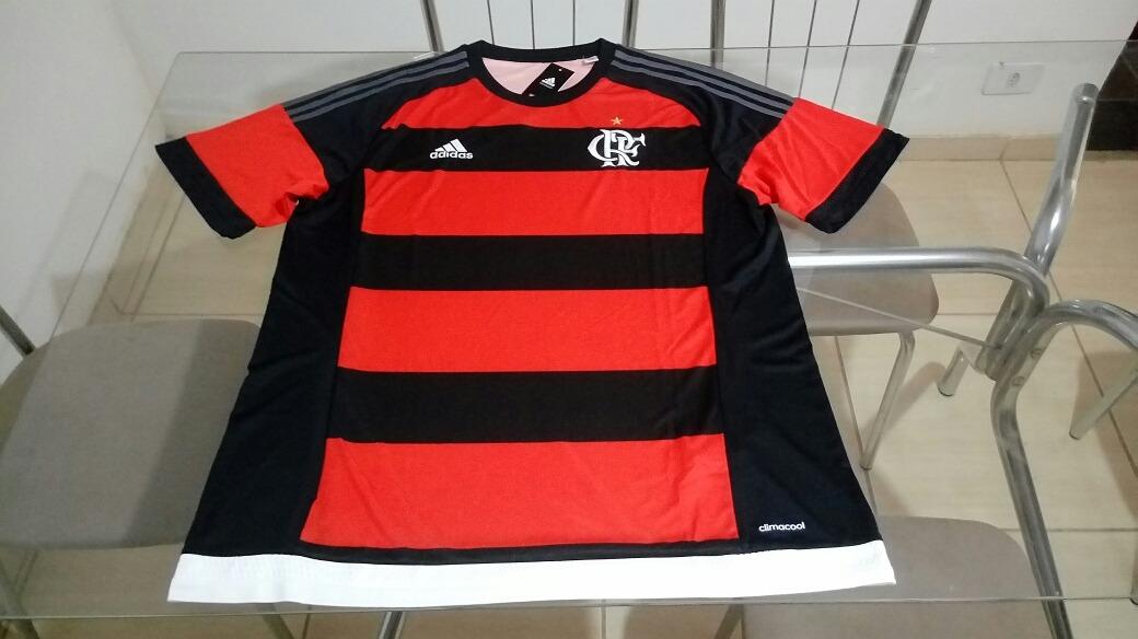 camisa oficial futebol adidas time flamengo brasil. Carregando zoom. d3576bf3e9ae9