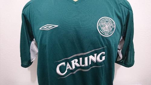 camisa oficial futebol celtic escócia 2004 away umbro tam g