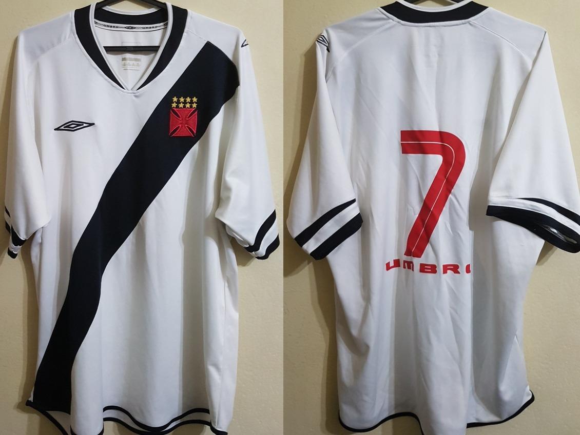 camisa oficial futebol vasco da gama umbro 2005   7 de jogo. Carregando  zoom. 315d94fdda870