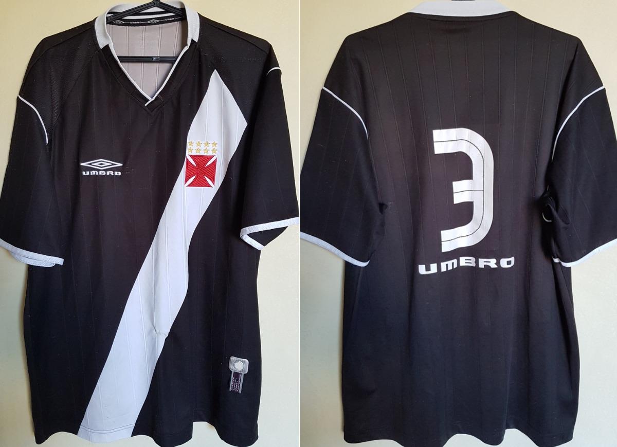camisa oficial futebol vasco umbro 2003   3 de jogo. Carregando zoom. 18c6d2ef51e5a