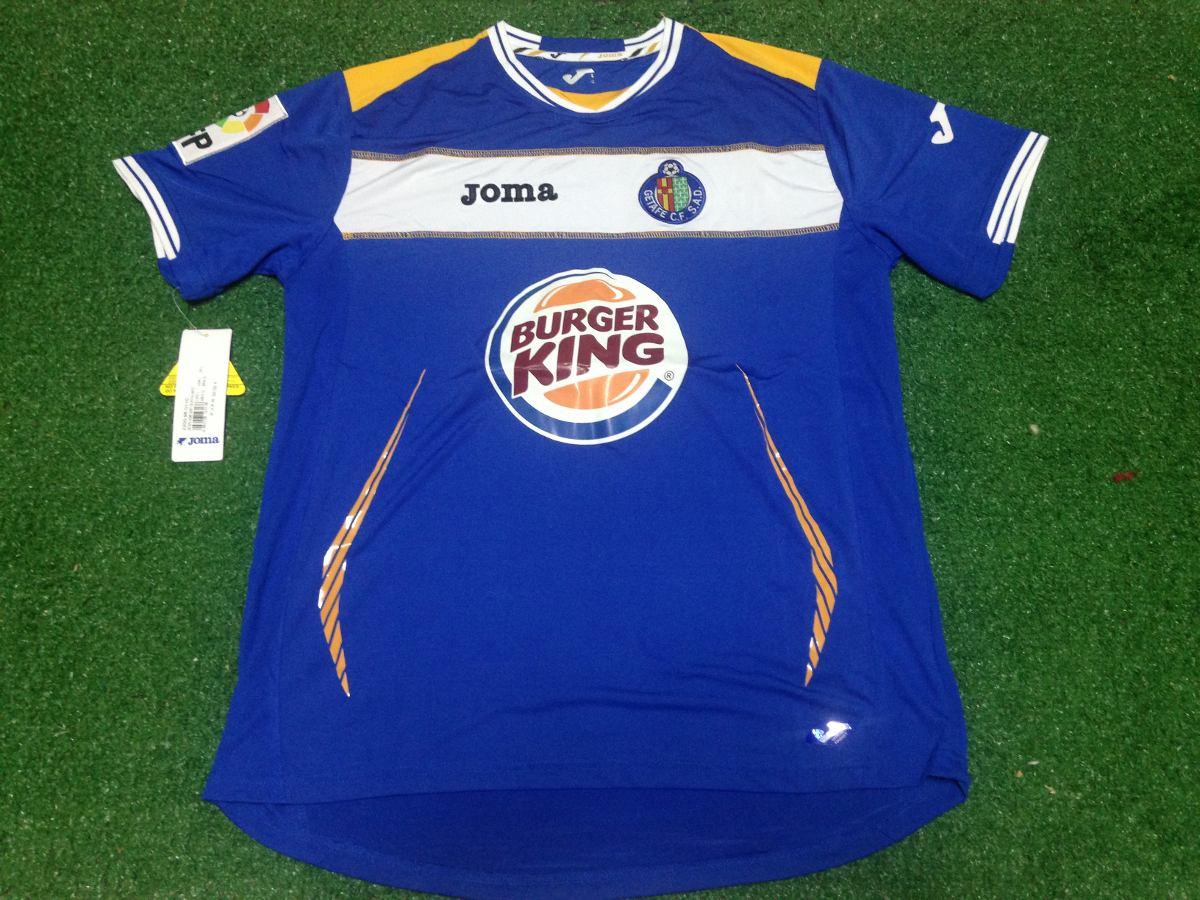 Camisa Oficial Getafe - Azul - Modelo 1 - R  89 3df3bae7617d8
