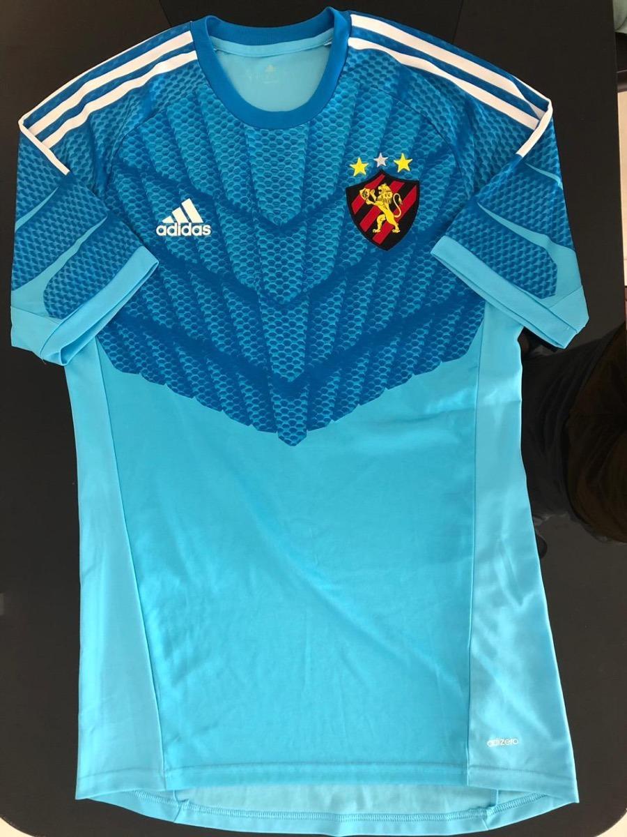 cc4e3a9312 Camisa Oficial Goleiro Sport Recife / adidas - Tamanho M - R$ 54,90 ...