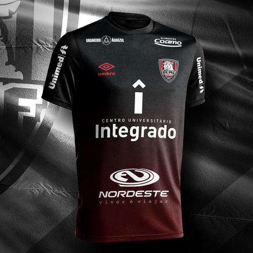 camisa oficial integrado campo mourão umbro futsal (2019)
