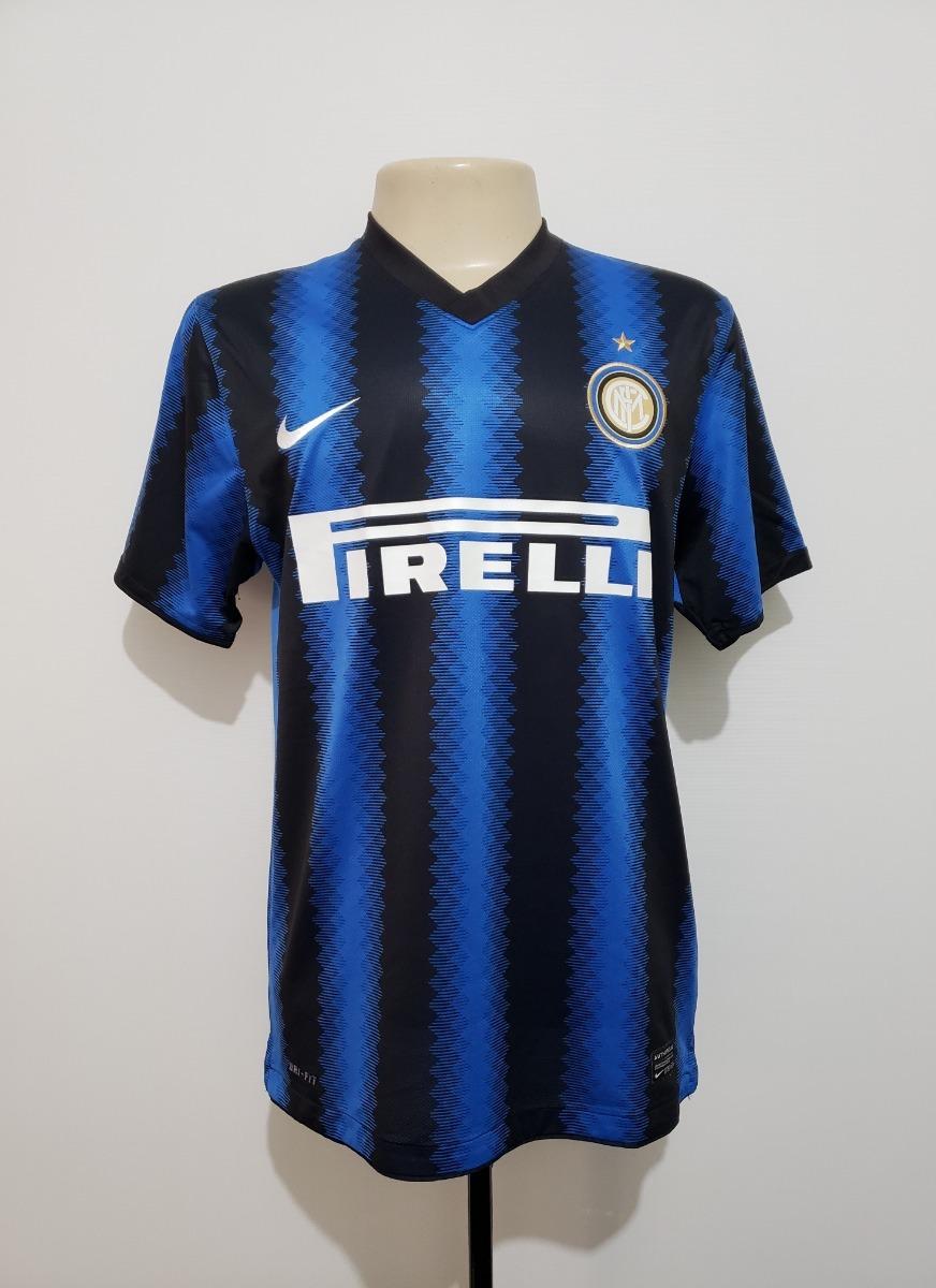 camisa oficial inter de milão itália 2010 away nike tam m. Carregando zoom. 86dd7cc129990
