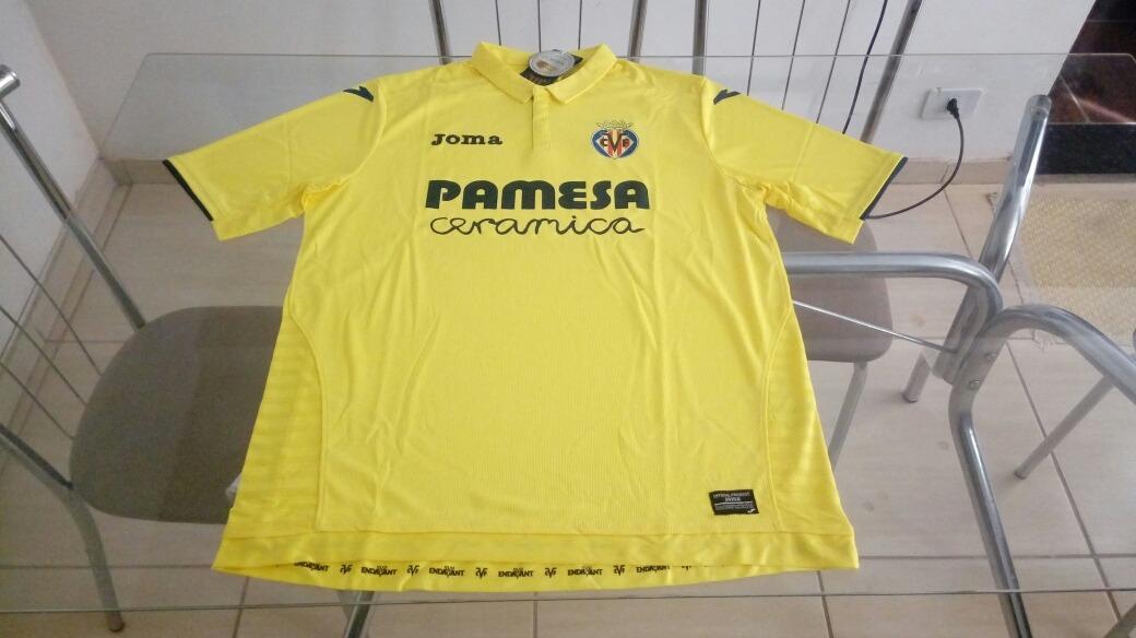 camisa oficial joma time futebol villarreal espanha. Carregando zoom. 909f6a3df2bb7